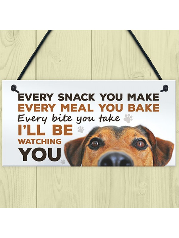 Dog Signs For Home Funny Dog Lover Gift House Kitchen Sign Gift