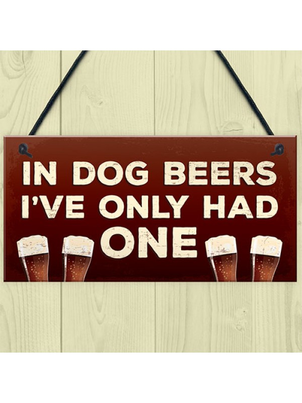 Funny Bar Sign Garden Hanging Plaque Alcohol Man Cave Beer Sign