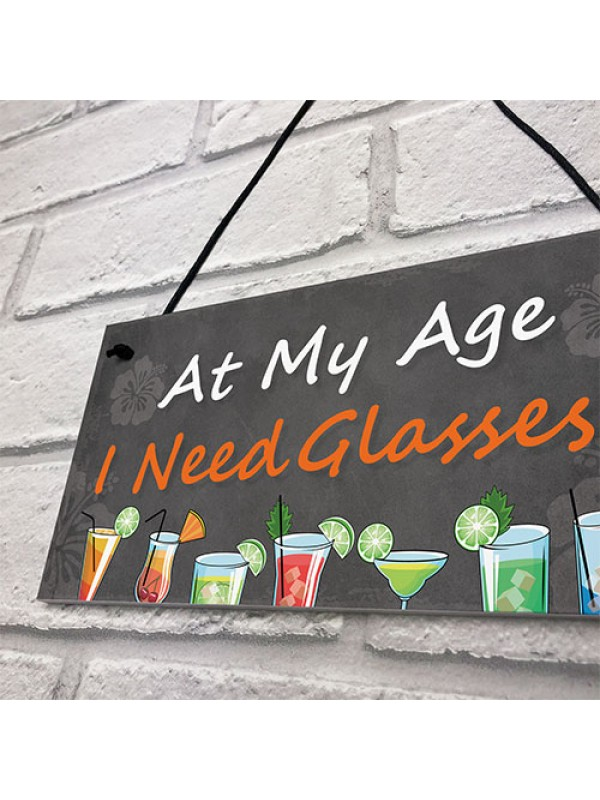 Funny Bar Sign Home Bar Garden Sign Alcohol Gift For Friend