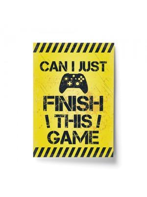 Funny Gaming Print Wall Boy Bedroom Decor Xbox Fan Gamer Gift