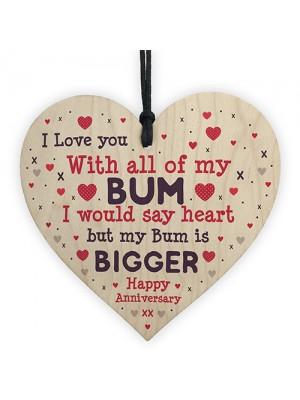 Funny Anniversary Birthday Gift For Husband Wife Boyfriend Heart
