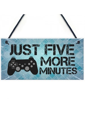 Funny Gamer Gift For Son Gaming Sign ManCave Sign Playstation