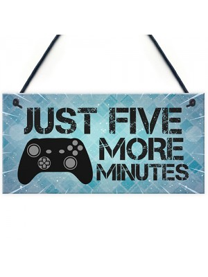 Funny Gamer Gift For Son Gaming Sign Hanging Man Cave Signs