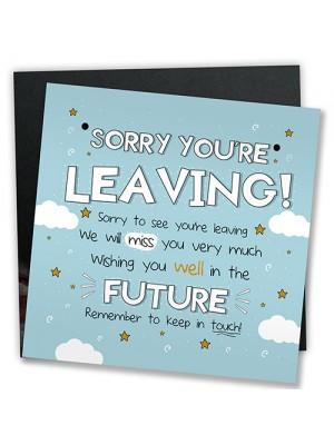 Good Luck Leaving Colleague Friend Teacher Work New Job Gift