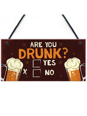 Bar Sign Funny Novelty Home Bar Man Cave Sign Funny Alcohol Gift
