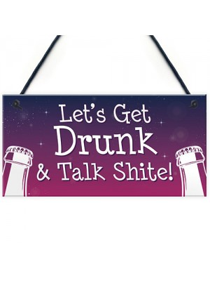 Funny Bar Sign For Garden Home Bar ManCave Alcohol Beer Gin Gift