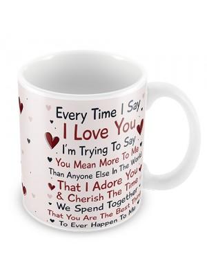 Anniversary Gift For Husband Wife Boy Girl Valentines Gift Mug