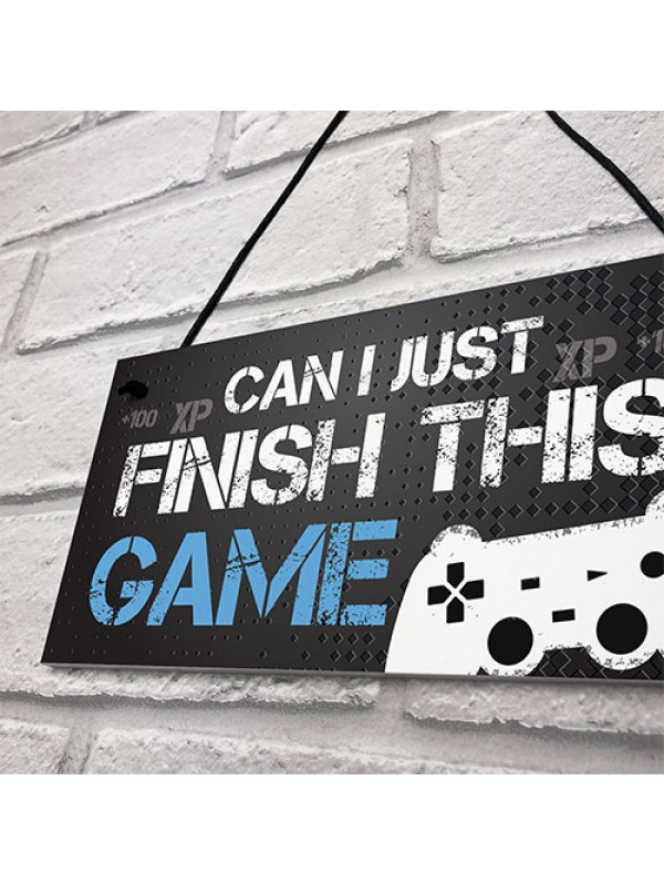 Gaming Sign For Boys Bedroom Man Cave Son Birthday Xmas Gift