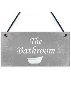 Bathroom Sign For Door Bathroom Sign Accessories Shabby Chic