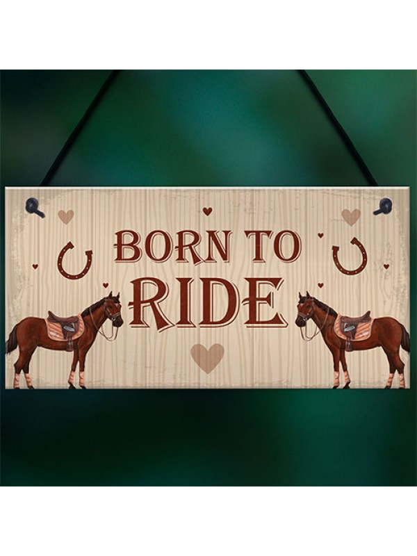 Horse Sign For Stable Plaque Horse Sign Funny Birthday Xmas Gift
