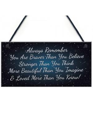 Motivational Gift Best Friend Friendship Gift Plaque