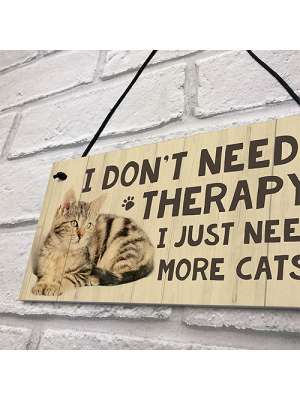 Cat Sign For Home Funny Cat Gift For Cat Lover Birthday Xmas