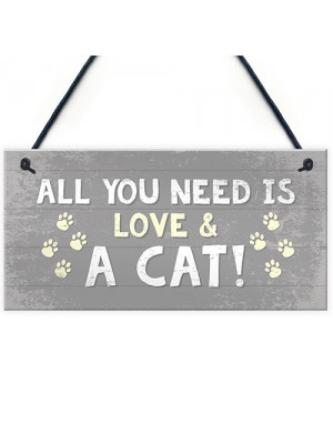 Cat Signs For Home Cat Door Sign Birthday Xmas Gift For Cat Love