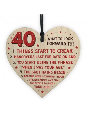 Turning 40 Card Funny 40th Birthday Gifts For Women Or Men