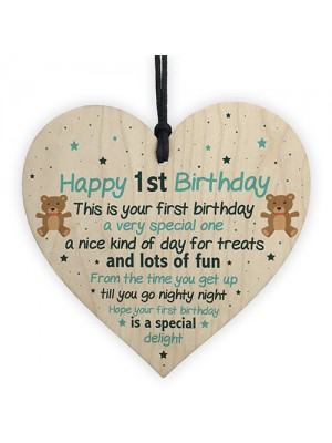1st Birthday Gift For Son Birthday Card 1st Birthday Accesories