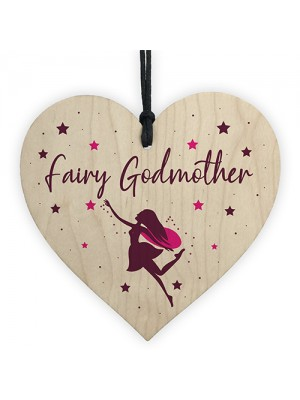 Fairy Godmother Wooden Plaque Gift Godmother Asking Gift Plaque