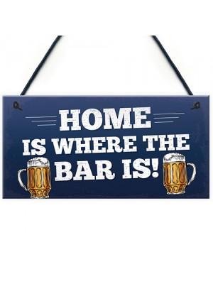 Funny Bar Sign Novelty Pub Sign Home Bar Decor Man Cave Gifts