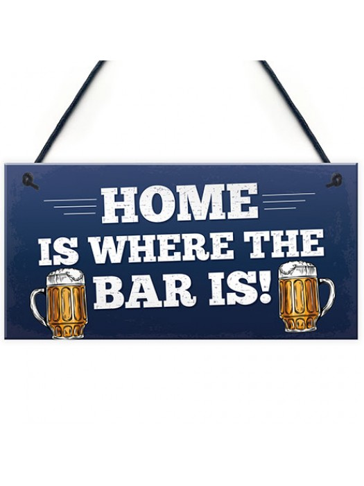 Funny Bar Sign Novelty Pub Sign Home Bar Decor Man Cave Gifts