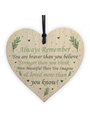 Best Friend Gift Motivational Sign Positive Quote Friendship