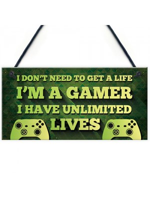 Gaming Bedroom Accessories Hanging Sign For Boys Bedroom Son Dad