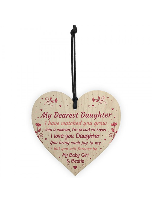 Daughter Gifts From Mum Dad 18th 21st Birthday Card Gift For Her