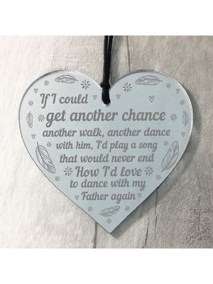 Memorial Gift For Dad Wedding Gift Memorial Heart Gift
