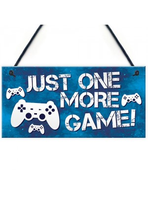 Funny Gamer Sign Door Sign Gamer Gift Boys Bedroom Decor
