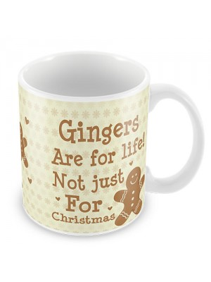 Gingers Are For Life Funny Friendship Valentines Day Gift Mug