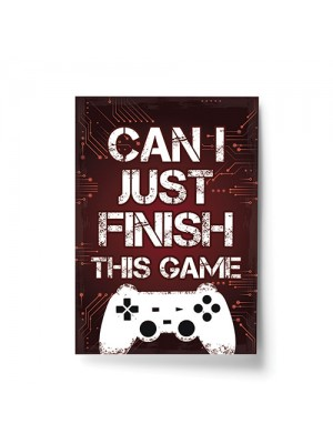 Gamer Gift For Son Dad Uncle Boys Bedroom Decor Man Cave Print