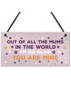Special Mum Plaque Mum Birthday Christmas Gift From Daughter Son