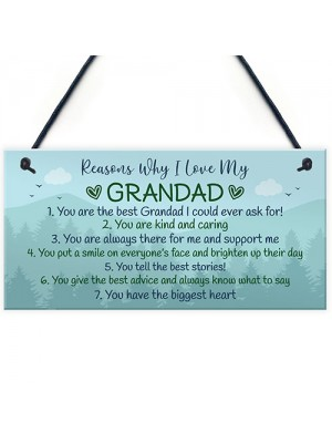 Birthday Gifts For Grandad Christmas Gift Plaque Grandad Gift