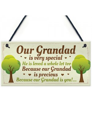 Grandad Gift Plaque Cute Gifts For Grandad From Grandchildren