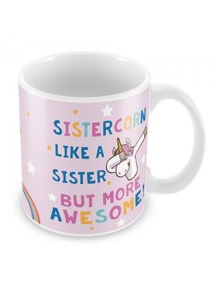 Sister Gift SISTERCORN Mug Unicorn Gift For Sister Birthday Gift