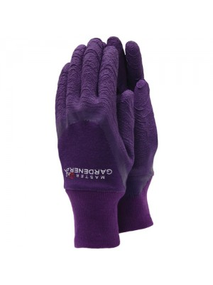 Town & Country Master Gardener Gloves - Medium Mens Aubergine