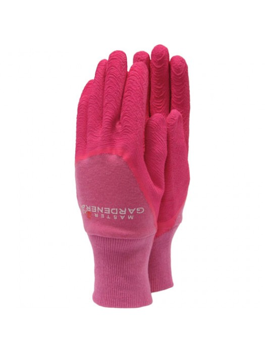 Town & Country Master Gardener Gloves - Ladies Pink Medium