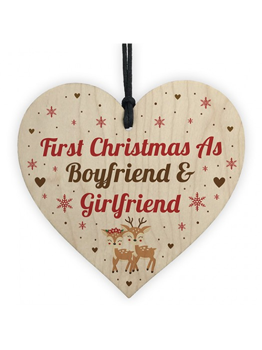 First Christmas As Boyfriend And Girlfriend 1st Christmas Bauble