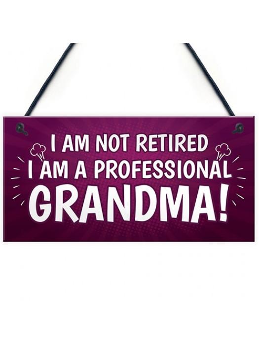 GRANDMA Gift Plaque Grandma Christmas Birthday Grandma Gift