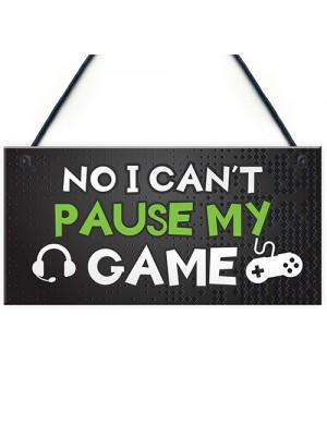 Boys Gaming Gifts Novelty Gaming Gamer Sign Funny Christmas