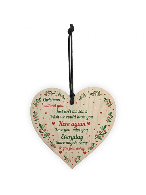 Memorial Christmas Tree Decoration For Mum Dad Nan Grandad Gift