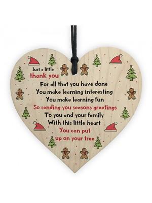 Xmas Gift For Your Teacher Teaching Assistant Nursery Teacher