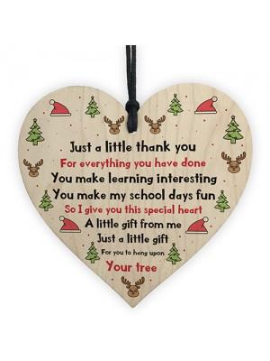 Thank You Christmas Gift For Teacher Teaching Assistant Nursery