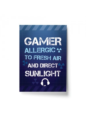 Funny Gamer Gift For Boys Bedroom Gaming Print Wall Sign Gift