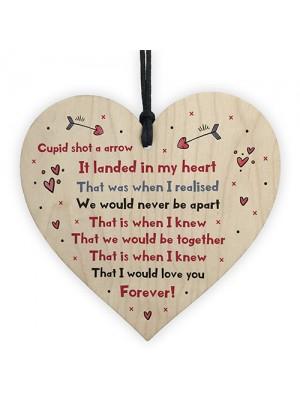 Valentine's Day Gift For Boyfriend Girlfriend Heart Anniversary
