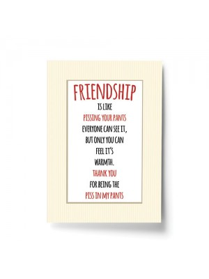 Funny Friend Gift - A4 Best Friend Gifts - Best Friend Sign