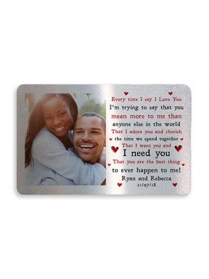 Personalised Valentines Day Anniversary Wedding Gift