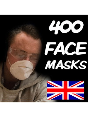 400 FLU VIRUS FACE MASK MEDICAL SURGICAL MASKS