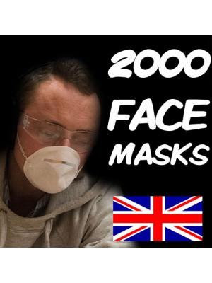 2000 FLU VIRUS FACE MASK MEDICAL SURGICAL MASKS