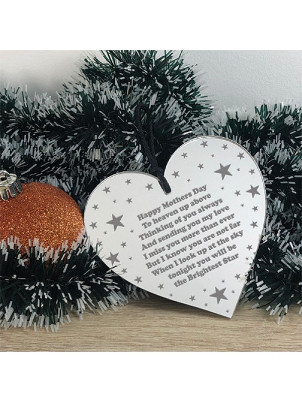 Personalised Mothers Day Memorial Plaque Gift In Memory Of Mum