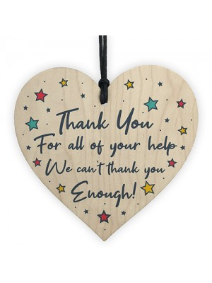 Thank You For Your Help Gift For Teacher Nurse Volunteer Carer