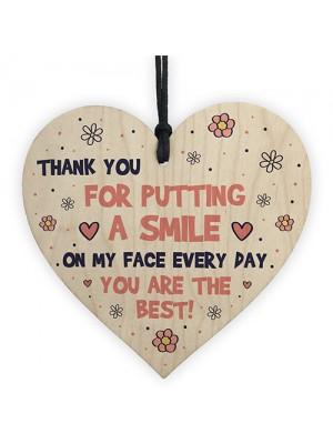 Special Thank You Gift For Carer Volunteer Teacher Friend Heart